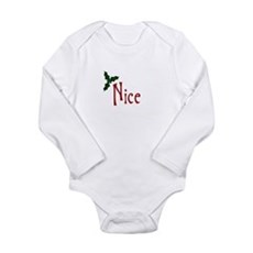 Nice Long Sleeve Infant Bodysuit