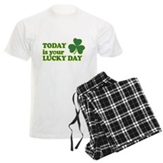 Today Is Your Lucky Day Mens Light Pajamas
