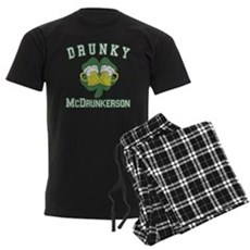 Drunky McDrunkerson Mens Dark Pajamas
