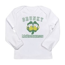 Drunky McDrunkerson Long Sleeve Infant T-Shirt