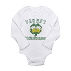 Drunky McDrunkerson Long Sleeve Infant Bodysuit