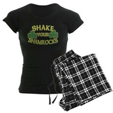 Shake Your Shamrocks Womens Dark Pajamas