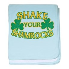Shake Your Shamrocks baby blanket