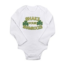 Shake Your Shamrocks Long Sleeve Infant Bodysuit