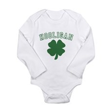 Irish Hooligan Long Sleeve Infant Bodysuit