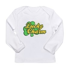 Vintage Lucky Charm Long Sleeve Infant T-Shirt