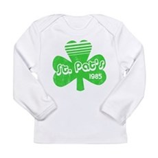 Retro St. Pat's Long Sleeve Infant T-Shirt