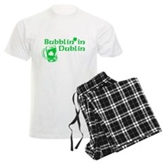 Bubblin' in Dublin Mens Light Pajamas