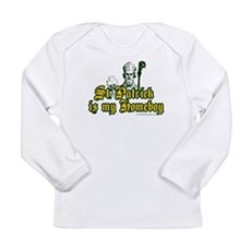 St. Patrick is my Homeboy Long Sleeve Infant T-Shi
