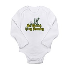 St. Patrick is my Homeboy Long Sleeve Infant Bodys