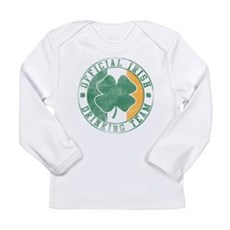 Official Irish Drinking Team Long Sleeve Infant T-