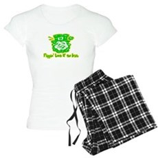 Flippin' Luck O' the Irish Womens Light Pajamas