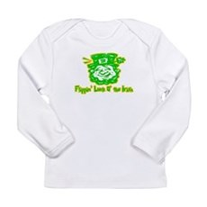 Flippin' Luck O' the Irish Long Sleeve Infant T-Sh