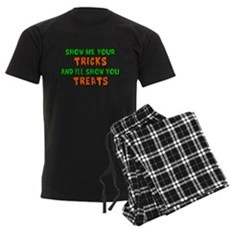 Show Me Your Tricks Mens Dark Pajamas