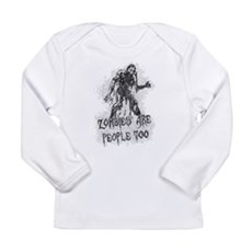 Zombies Are People Too Long Sleeve Infant T-Shirt