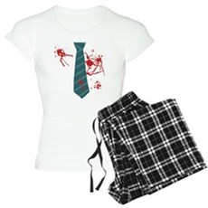 Zombie Hunter Womens Light Pajamas