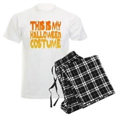 This is My Halloween Costume Mens Light Pajamas