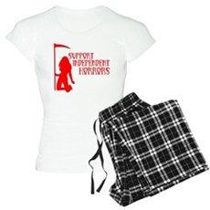 Support Independent Horrors Womens Light Pajamas