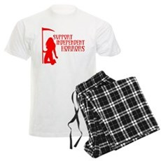 Support Independent Horrors Mens Light Pajamas