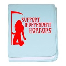 Support Independent Horrors baby blanket