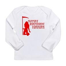 Support Independent Horrors Long Sleeve Infant T-S