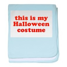 This is my Halloween costume baby blanket