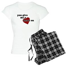 You give me a heart on Womens Light Pajamas