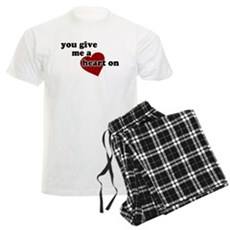 You give me a heart on Mens Light Pajamas
