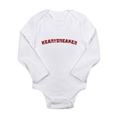 Heartbreaker Long Sleeve Infant Bodysuit