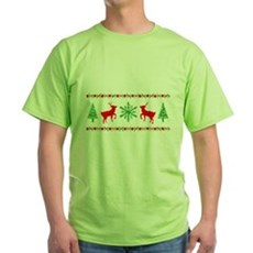 Ugly Christmas Sweater Green T-Shirt