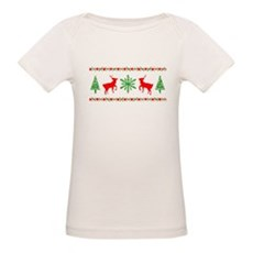 Ugly Christmas Sweater Organic Baby T-Shirt
