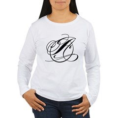 Circle A Women's Long Sleeve T-Shirt