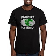 Reunite Pangea Men's Fitted T-Shirt (dark)