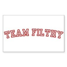 Team Filthy Rectangle Sticker