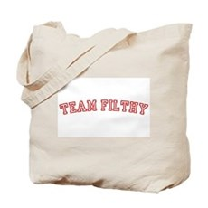Team Filthy Tote Bag