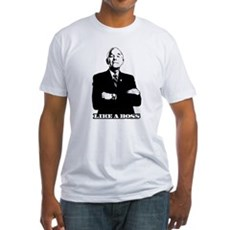 Ron Paul Like a Boss Fitted T-Shirt