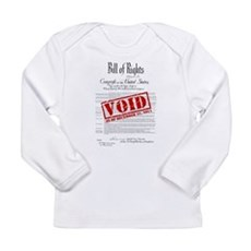 Voided Bill of Rights NDAA Long Sleeve Infant T-Sh