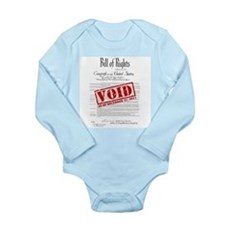 Voided Bill of Rights NDAA Long Sleeve Infant Body