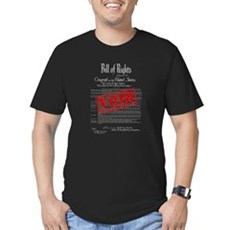 Voided Bill of Rights NDAA Mens Fitted Dark T-Shirt