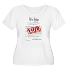 Voided Bill of Rights NDAA Womens Plus Size Scoop
