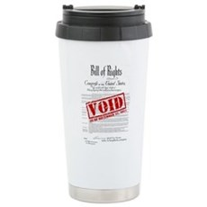 Voided Bill of Rights NDAA Stainless Steel Travel