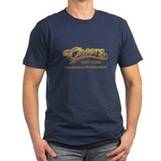 Cheers Mens Fitted Dark T-Shirt