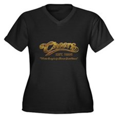 Cheers Plus Size V-Neck Shirt