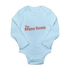The Brady Bunch Long Sleeve Infant Bodysuit