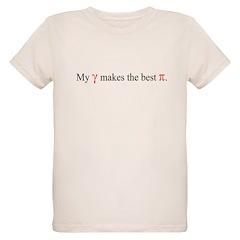 Grandma's Pie Organic Kids T-Shirt