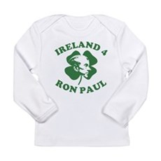 Ireland 4 Ron Paul Long Sleeve Infant T-Shirt