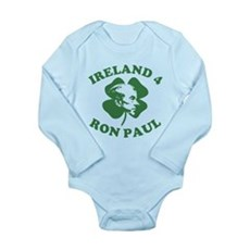Ireland 4 Ron Paul Long Sleeve Infant Bodysuit