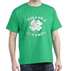 Ireland 4 Ron Paul T-Shirt