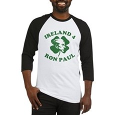 Ireland 4 Ron Paul Baseball Jersey