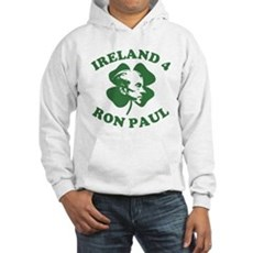 Ireland 4 Ron Paul Hooded Sweatshirt